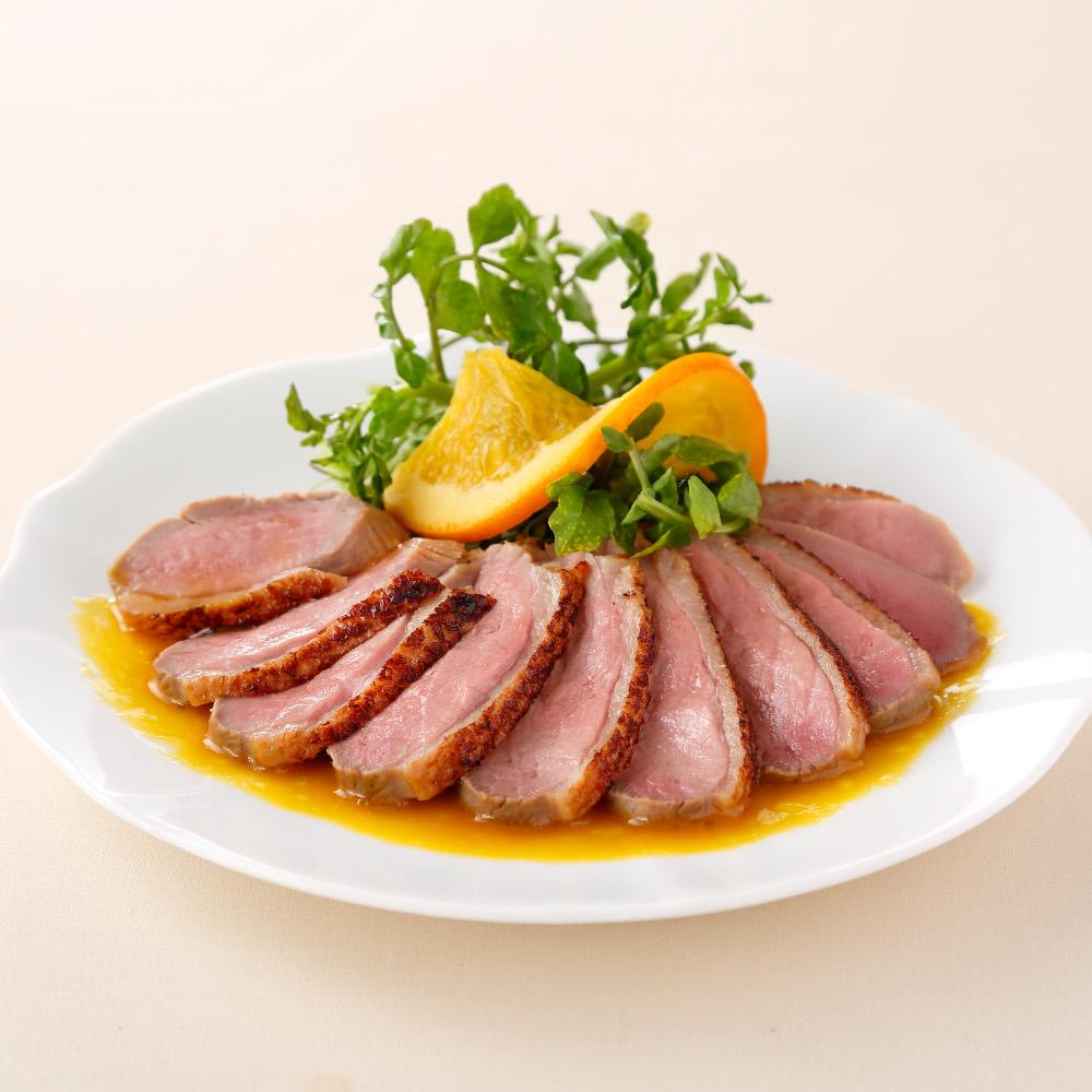 モン・テルセーロ合鴨ロースオレンジ風味